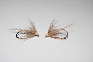 CK -  March Brown Spider  Nassfliegen   je 3 Stück