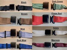 "1926 1958 Pontiac Metal Buckle Rear Seat Belt 60"" Various Colors, CPE5060_"