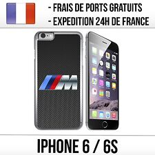 Coque iPhone 6 et 6S - BMW M Carbone