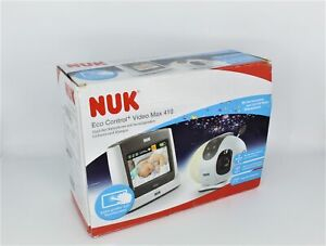 NUK Eco Control+ Video Max 410 Kamera für Babyphone Camera Babyfon Sicherheit