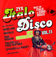 CD Zyx Italo Disco New Generation Vol. 11 von Various Artists 2CDs