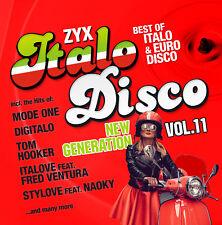 CD Zyx Italo Disco New Generation Vol.11 von Various Artists 2CDs