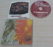 CD ALBUM UNPLUGGED IN NEW YORK NIRVANA 14 TITRES 1994
