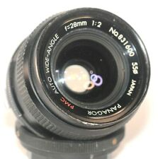 Panagor PMC Wide Angle Kiron / Komine 28 mm F 2 Lens in Olympus OM Mount