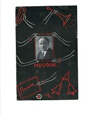 Houdini Spiritualism circa 1925 brochure with $10,000 Challenge, free Us post