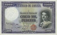 Spain, Barcelona Republican 100 & 5000 Pesetas, 1930, P.90 - P.92, REPRODUCTION