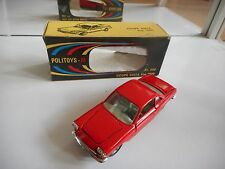 Politoys Fiat 1500 Coupe Siata in Red on 1:43 in Box