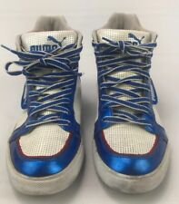 Puma 7.5 Mens high tops White,Blue And Red