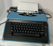 Brother Cassette Correct-o-Riter Blue 4712L C119 Portable Electric Type Writer