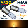 H6w Clear Halogen Bayonet 6w 433 434 T4w Bax9s Bright Car Parking Side Light 12v