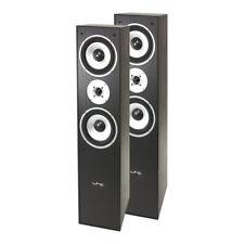 LTC L766-BL Pair of Floor Standing Hifi Speakers 350W Black Sound System