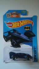 Hot Wheels Batman Live Electric Blue Batmobile Mattel 2013 HW City NRFP!