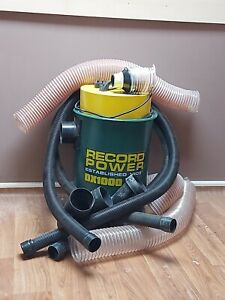 Record Power Fine Filter 45 Liter Extractor DX1000