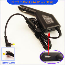 Laptop DC Adapter Car Charger for eMachines MS2305