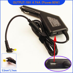 Laptop DC Adapter Car Charger for Acer TravelMate 4230-6504 4290