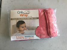 Crib Wrap Pink 1 Long Narrow