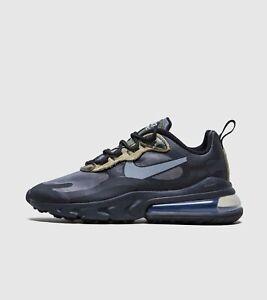 Nike Mens Air MAX 270 React Black Camo CT5528 001 Multiple Sizes