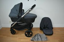 Travel System 2in1 iCandy Strawberry 2 in Slate Grey