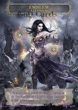 1x Liliana Defiant Necromancer Emblem #1 Custom Altered MTG Magic Origins