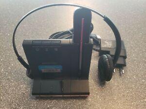 Plantronics Headset Savi W740 USB, Bluetooth, DECT - Komplett & Topzustand