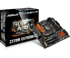ASRock Z170M Extreme4 LGA1151 DDR4 Micro ATX Motherboard (Z170M EXTREME4)