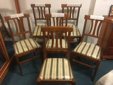 Lot 6 chaises Style Louis Philippe