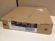 """BOX of 5 3M Black 7200 Stripper Pads 17"""" 175-600RPM"""