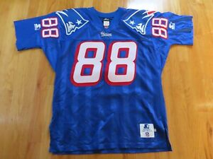 Starter TERRY GLENN No. 88 NEW ENGLAND PATRIOTS (Size 48) Authentic Jersey
