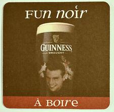 Beer Coaster Guinness Draught Fun Noir à Boire