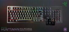 Razer Huntsman Opto-Mechanische Jeux Clavier, Chroma Éclairage, Qwertz -ovp
