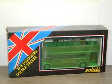 Bus Londonien Double Decker - Solido France 1:50 in Box *43048