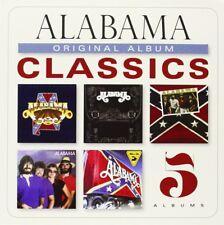 Original Album Classics / Alabama (5CD) My Home's Feels Mountain Closer Roll NEW