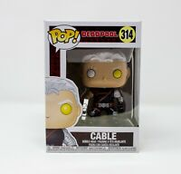 Funko Pop! New Marvel Deadpool Cable Pop! Marvel Vinyl Bobble-Head #314