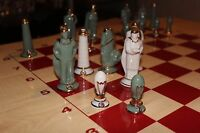 Porcelain Chess Set «Electricity»