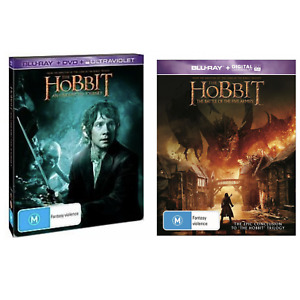 The Hobbit An Unexpected Journey The Battle Of The Five Armies Steelbook Blu-Ray