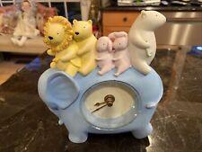 Michel & Co. David Walker Nursery Clock Working Elephant Clock & Other Animals