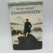 Frankenstein Mary Shelley 1994 Paperback Unabridged High School Reading Dover