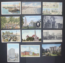 Interesting Lot of Used USA Postcards, From 1903 Onwards