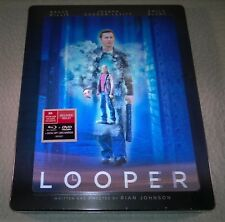 Looper (2011, Canada) 3D Lenticular Futureshop Exclusive Steelbook NEW