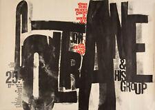 John Coltrane-Hamburg,West Germany 1962 - Concert Poster Wall Art A4/A3/A2/A1/A0