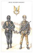 Postcard The British Army Series No.62 Special Air Service Regiment Geoff White