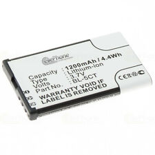 Battery Li-ion for Nokia 5630 XpressMusic Replaces bl-5ct Batteria Battery Battery