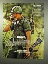 1977 U.S. Army Ad - Bravo