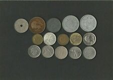 15 ältere Münzen aus der ganzen Welt. Wahre Fundgrube. Teils wertvolle Stücke