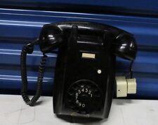 Vintage Ericsson Rotary Dial Base Telephone Black Phone Wall Home Decor