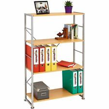 More details for bookcase with 4 shelves storage furniture for home office - piranha ballan pc12b
