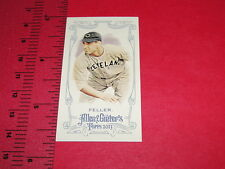 2013 ALLEN & GINTER Bob FELLER Red Mini/25 Cleveland INDIANS - USS Alabama WWII