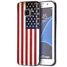 Samsung Galaxy S7 Distressed US American Flag Case