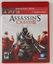 PS3 Playstation Network 3 Greatest Hits ASSASSINS CREED II Ubisoft