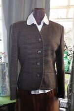 Beautiful Viyella vintage wool tailored jacket from size 10 - 12